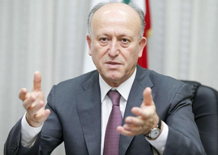 الوزير السابق اللواء أشرف ريفي