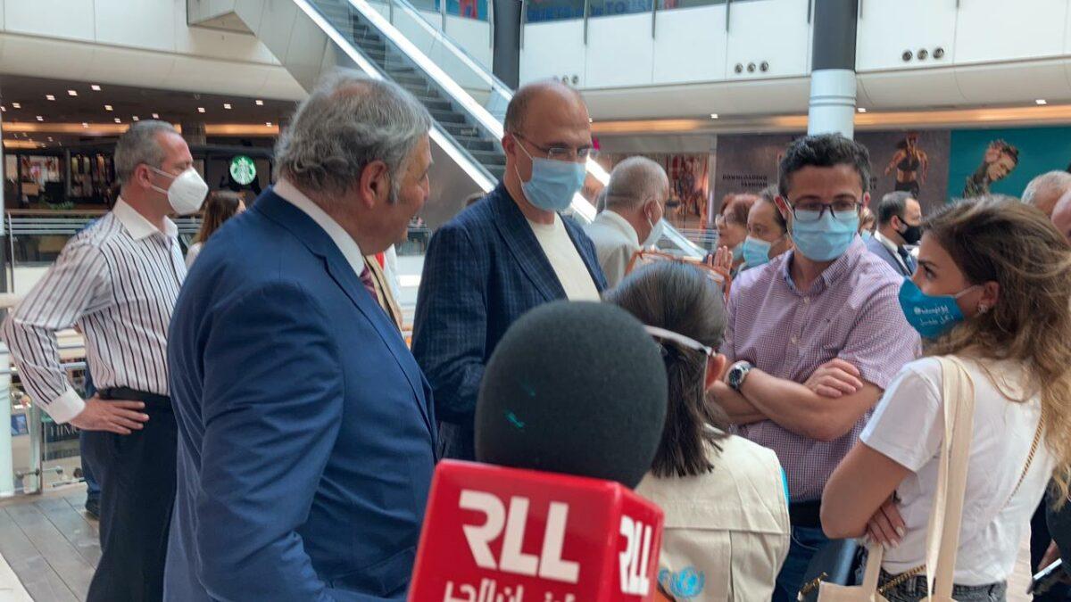 وزير الصحة حمد حسن في السيتي مال